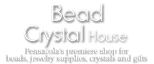 a Bead and Crystal House